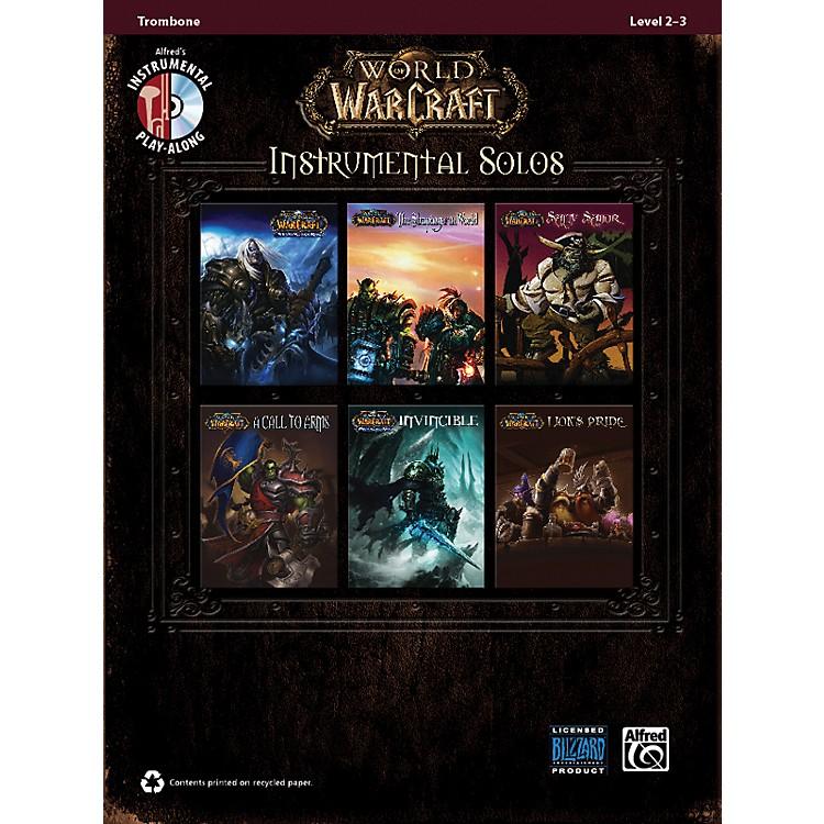 AlfredWorld of Warcraft Instrumental Solos Trombone Book & CD