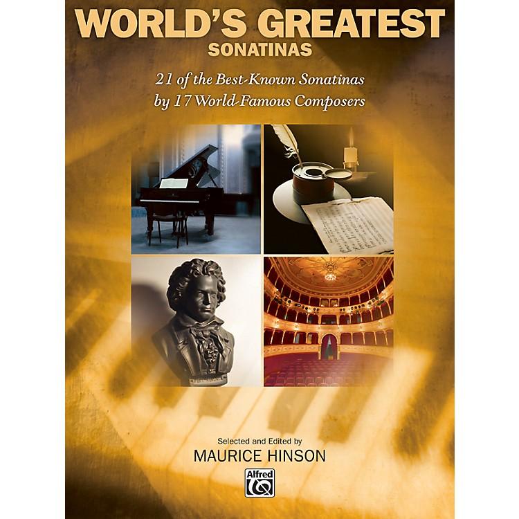 AlfredWorld's Greatest Piano Sonatinas