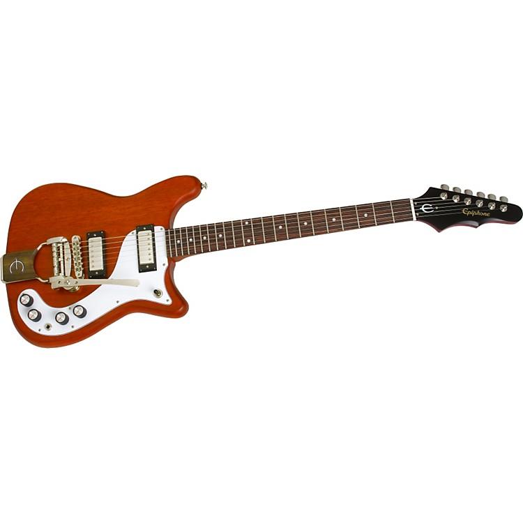 EpiphoneWorn 1966 Wilshire with Tremotone Electric GuitarAged Cherry