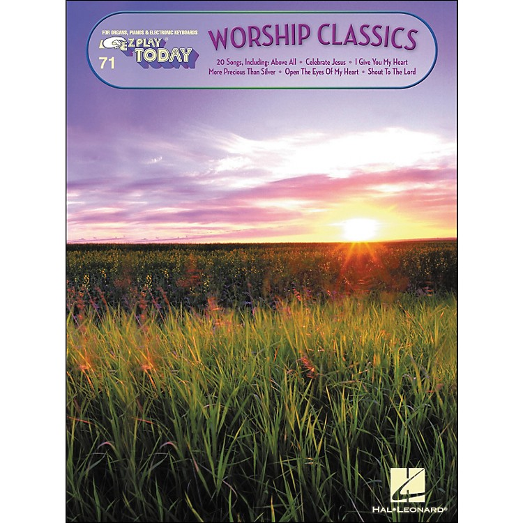 Hal LeonardWorship Classics E-Z Play 71