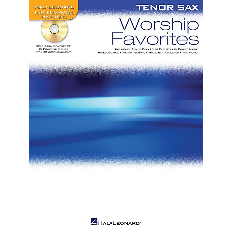 Hal Leonard Worship Favorites Instrumental Play-Along Series Book with CD