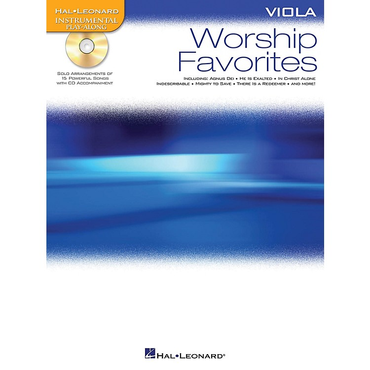 Hal LeonardWorship Favorites (Instrumental Play-Along for Viola) Instrumental Play-Along Series Softcover with CD