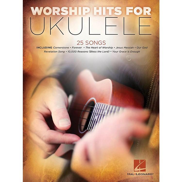 Hal LeonardWorship Hits For Ukulele