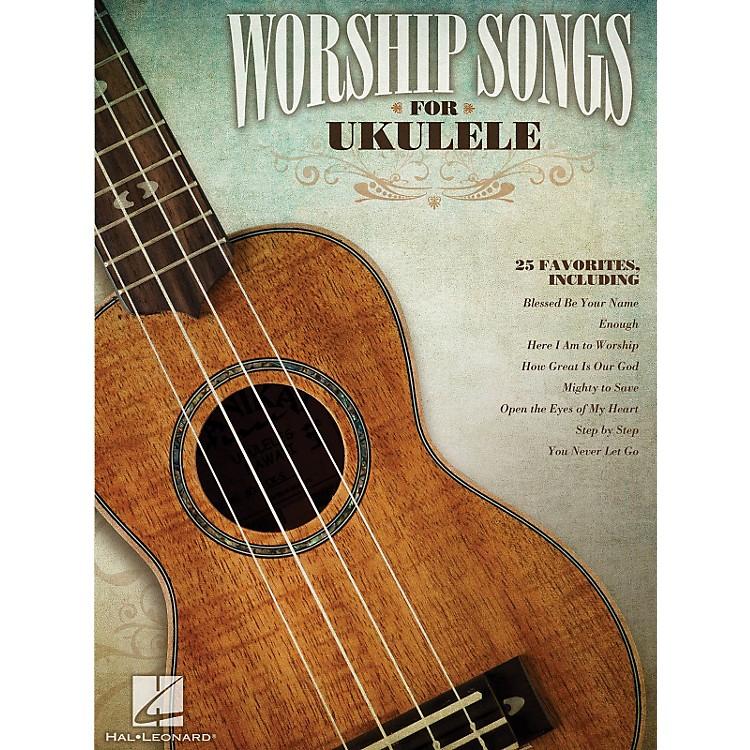 Hal LeonardWorship Songs For Ukulele Songbook