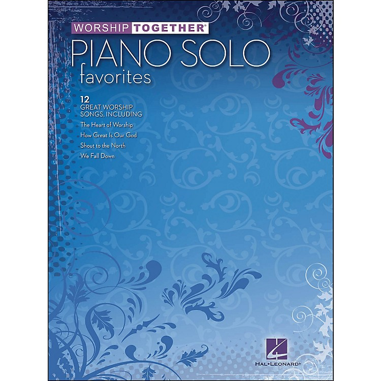 Hal Leonard Worship Together Piano Solo Favorites