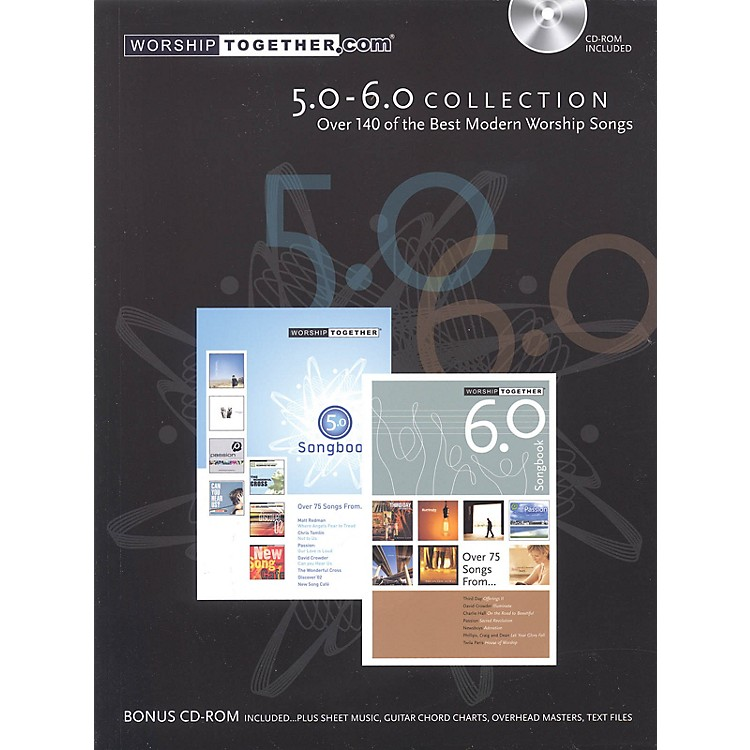 Worship Together Worship Together Songbook 5.0-6.0 Sacred Folio Series Softcover with disk Performed by Various