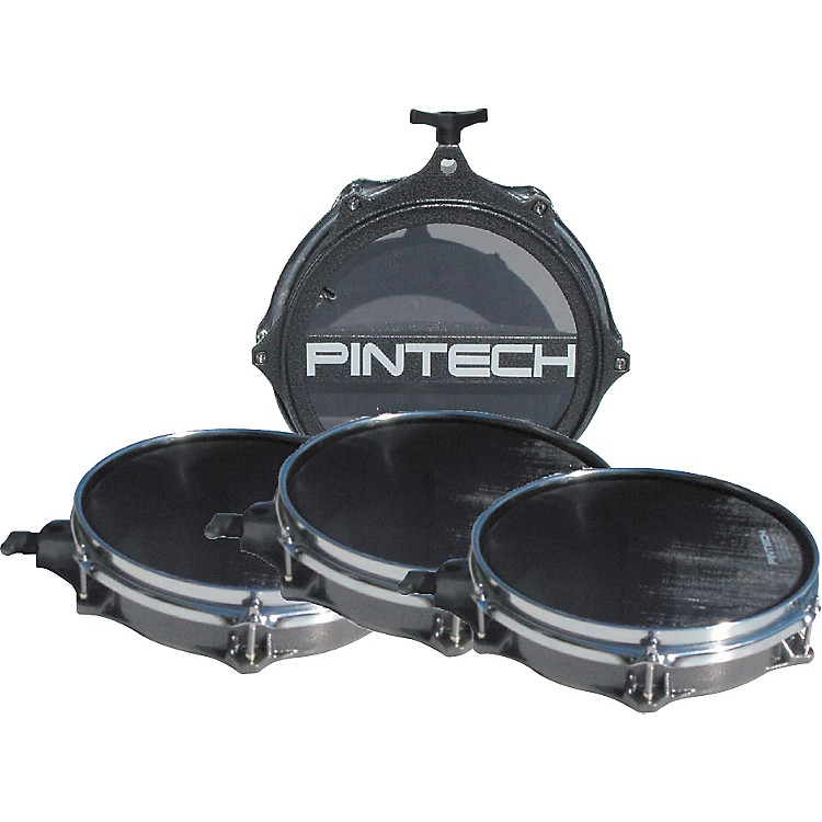 PintechWoven Head Snare Drum and Tom Pad Set