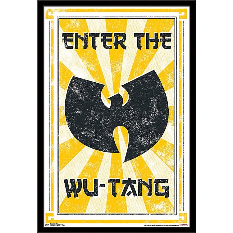 Trends InternationalWu-Tang Clan - Enter PosterFramedBlack