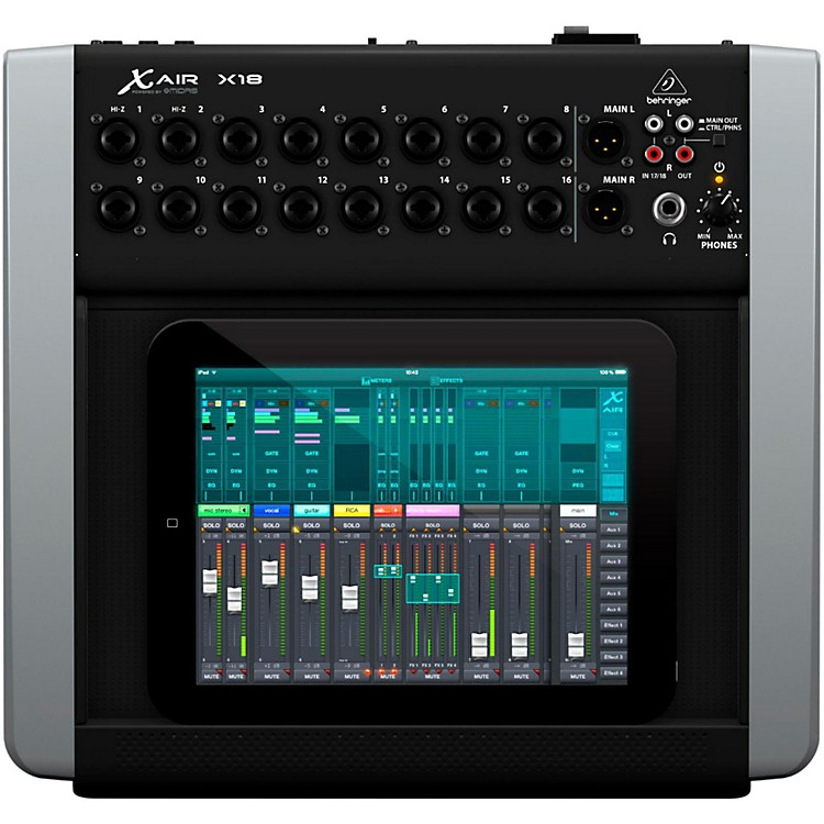 behringer x air x18 digital desktop mixer music123. Black Bedroom Furniture Sets. Home Design Ideas
