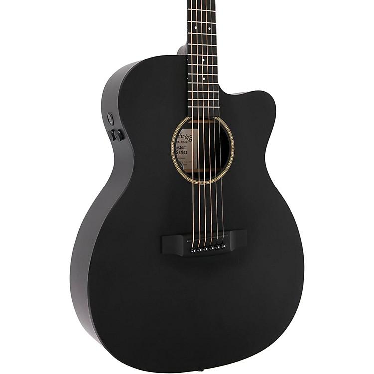 MartinX Series Custom X-000CE Auditorium Acoustic-Electric GuitarBlack