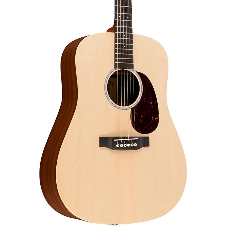 Martin X Series Custom X1-DE Dreadnought Acoustic-Electric Guitar Natural