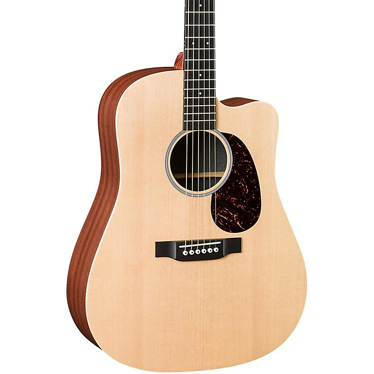 Martin X Series DCX1AE Dreadnought Acoustic-Electric Guitar Natural