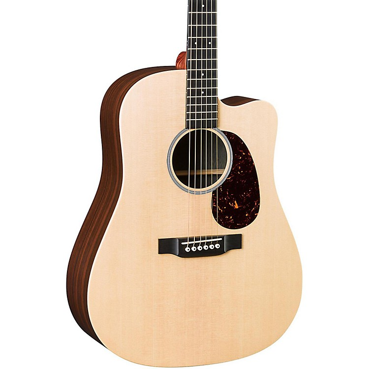 Martin X Series DCX1RAE Dreadnought Acoustic-Electric Guitar Natural