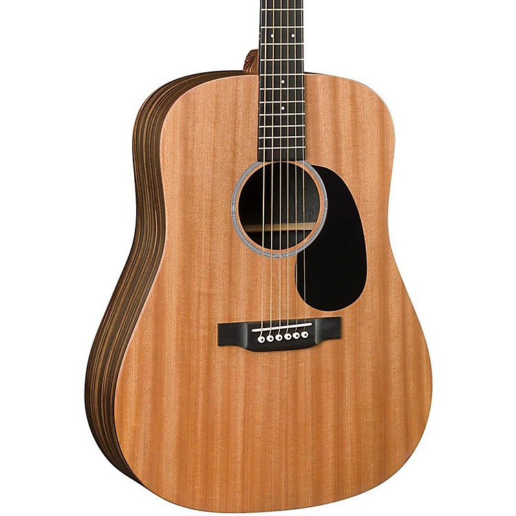 Martin X Series DX2AE Macassar Dreadnought Acoustic-Electric Guitar Natural