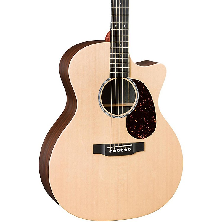 MartinX Series GPCX1RAE Grand Performance Acoustic-Electric GuitarNatural