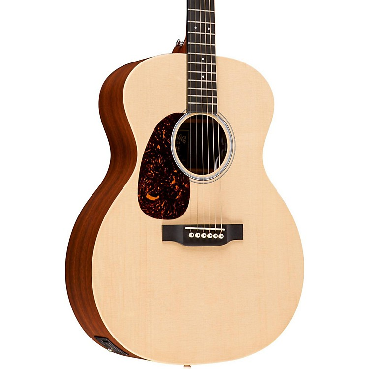 MartinX Series GPX1AE Grand Performance Left-Handed Acoustic-Electric GuitarNatural