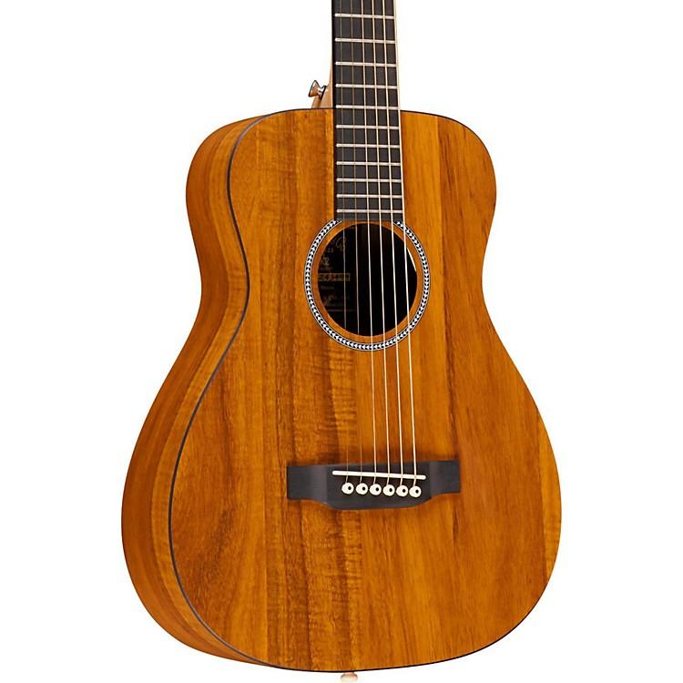 MartinX Series LX Koa Little Martin Left-Handed Acoustic GuitarNatural