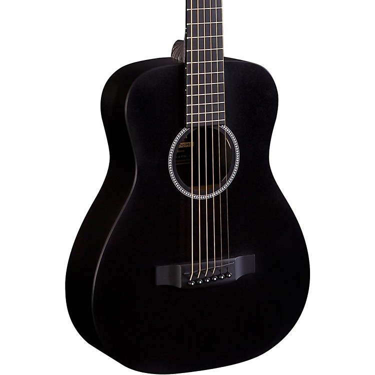 Martin X Series LX Little Martin Acoustic Guitar Black