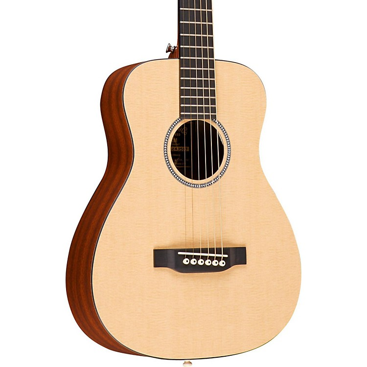 Martin X Series LX Little Martin Left-Handed Acoustic Guitar Natural
