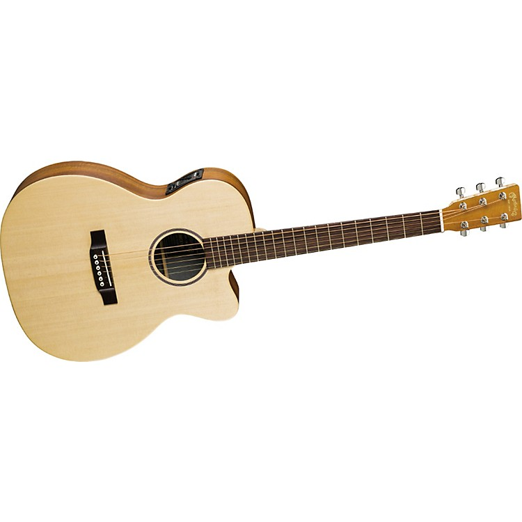MartinX Series OMCX1KE Cutaway Acoustic-Electric Guitar