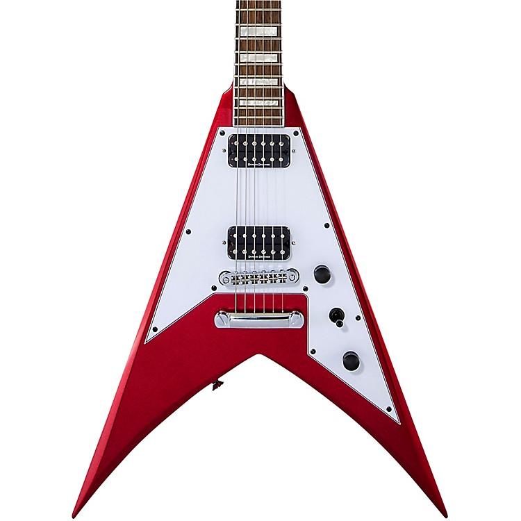 JacksonX Series Signature Scott Ian King V KVXT Electric GuitarCandy Apple Red