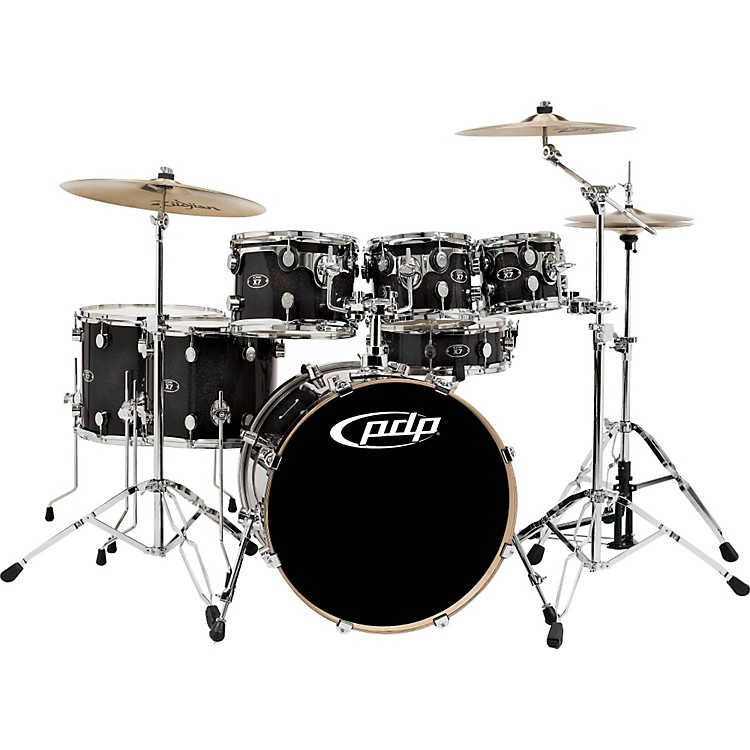 PDP by DW X7  Maple 7 Piece Lacquer Shell Pack