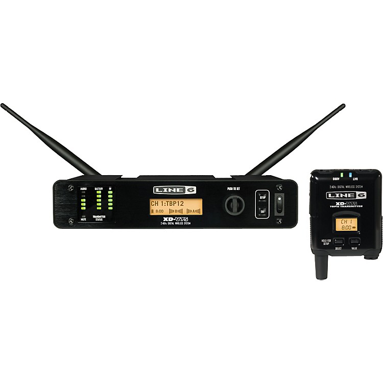 Line 6 XD-V75TR Professional Digital Wireless Bodypack System TA4