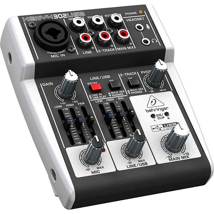 BehringerXENYX 302USB Mixer