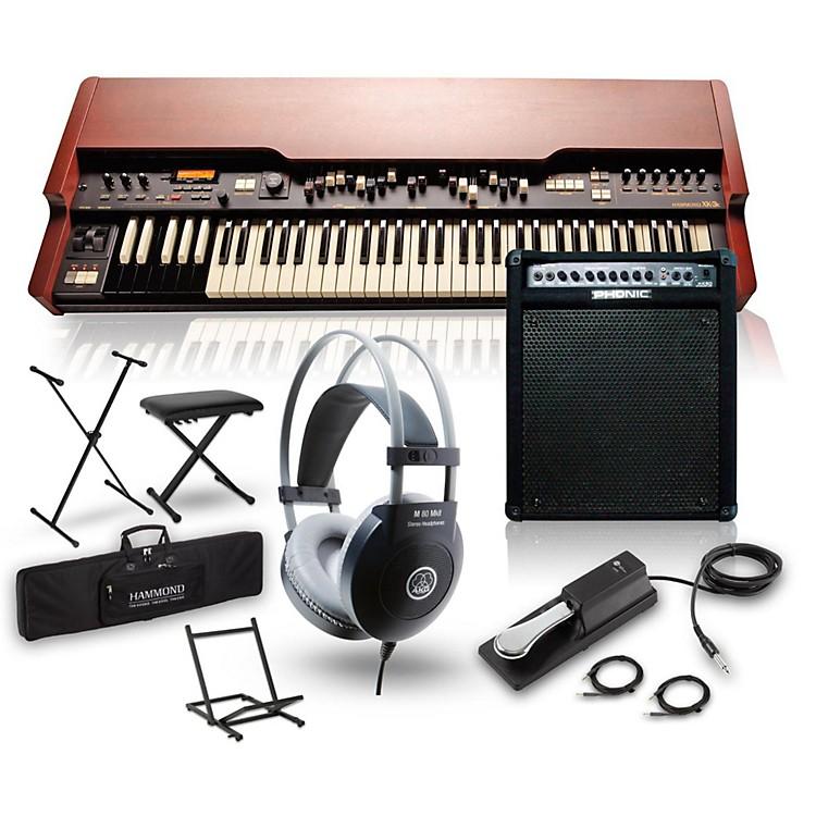 HammondXK-3c Drawbar Organ with Keyboard Amplifier, Stand, Headphones, Bench and Sustain Pedal