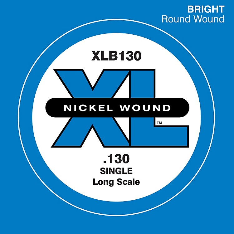 D'AddarioXLB130 Nickel Wound Electric Bass Single String