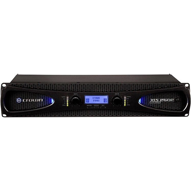 CrownXLS2502 775W Power Amp with Onboard DSP
