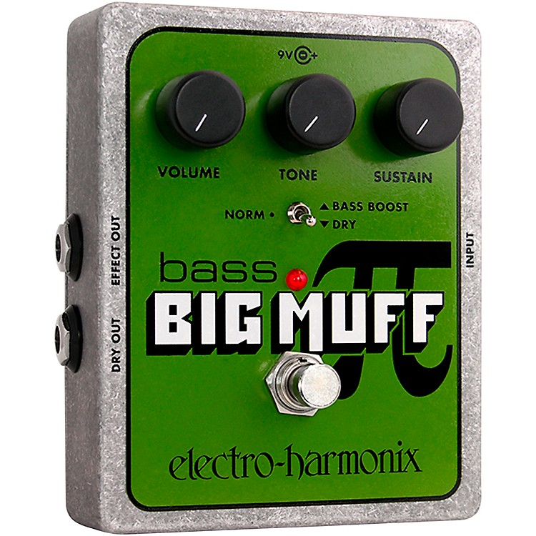 Electro-HarmonixXO Bass Big Muff PI Distortion Effects Pedal