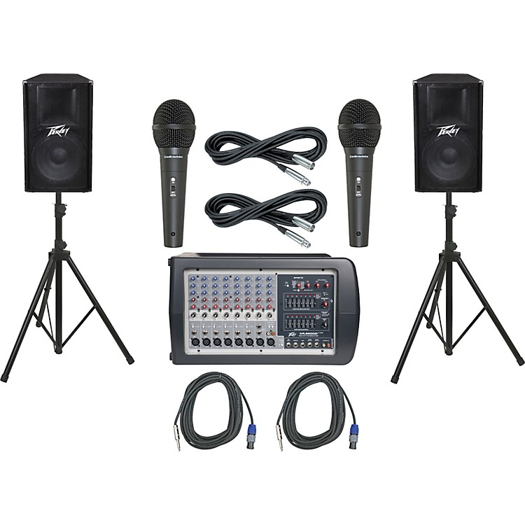 Peavey XR 8600D / PV115 PA Package