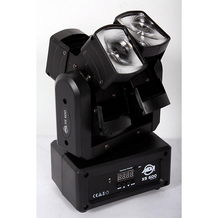 American DJ XS-600 Dual Moving Head LED Fixture  888365822907