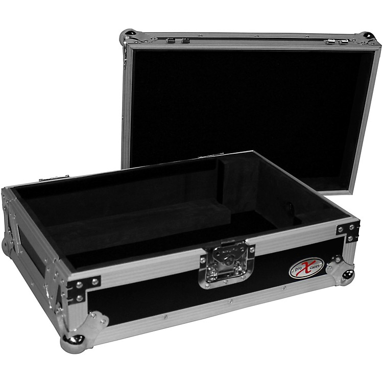 ProX XS-CD Flight Case for CDJ-2000NXS2 and Large-Format Media Players Black/Chrome