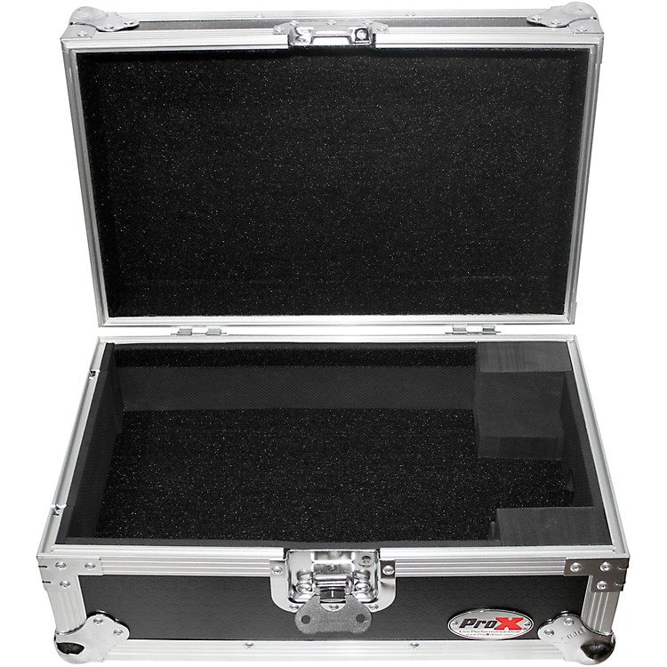 ProX XS-CDi ATA-Style Flight Road Case for Medium Format CD and Media Players, Pioneer CDJ-200 Black/Chrome