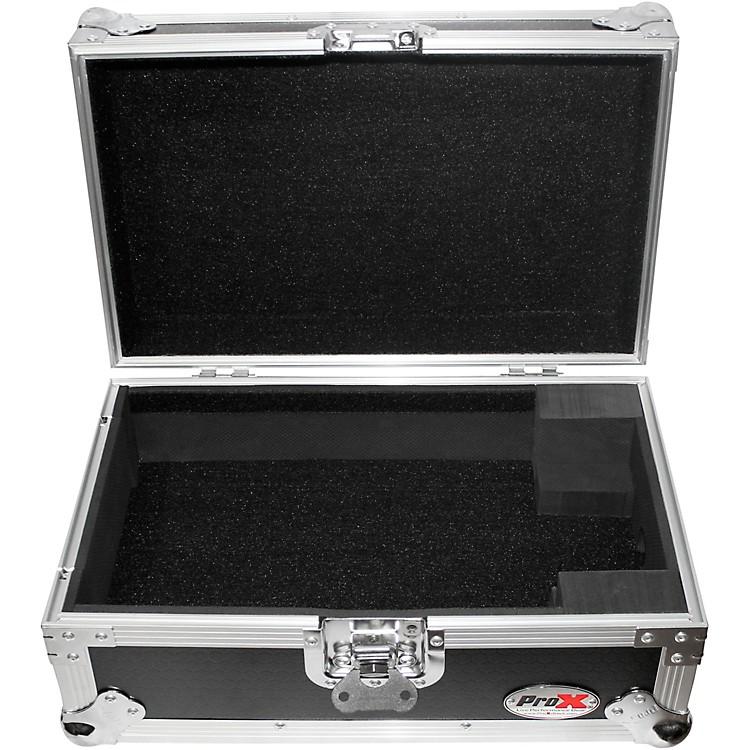 ProXXS-CDi ATA-Style Flight Road Case for Medium Format CD and Media Players, Pioneer CDJ-200Black/Chrome