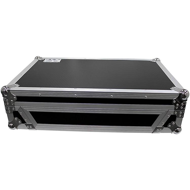 ProXXS-DDJ1000WBL Black ATA Flight Case for Pioneer DDJ-1000 DJ Controller