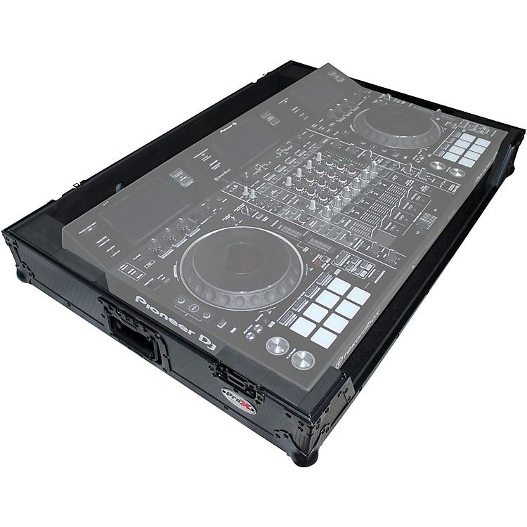 ProXXS-DDJRZXWBL Black ATA Style Flight Road Case for Pioneer DDJ-RZX DJ Controller with WheelsBlack