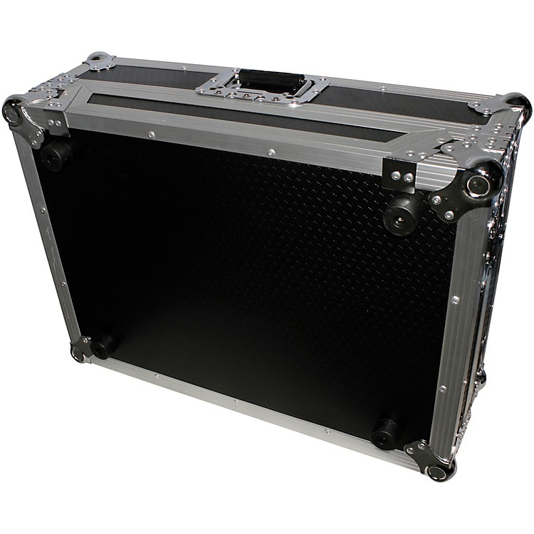 ProXXS-DDJSRLT ATA Style Flight Road Case for Pioneer DDJ-SR Controller With Sliding ShelfBlack/Chrome