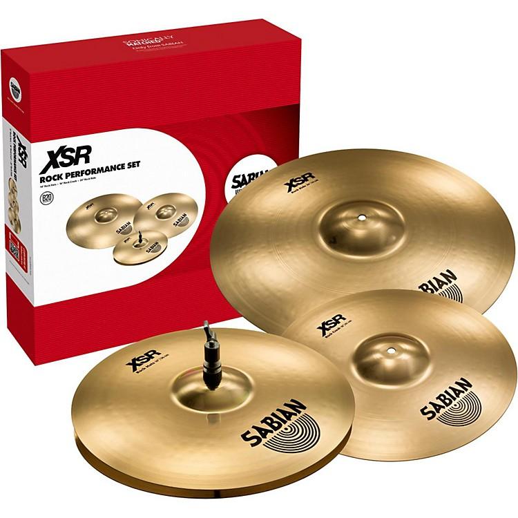 SabianXSR Rock Performance Set Cymbals