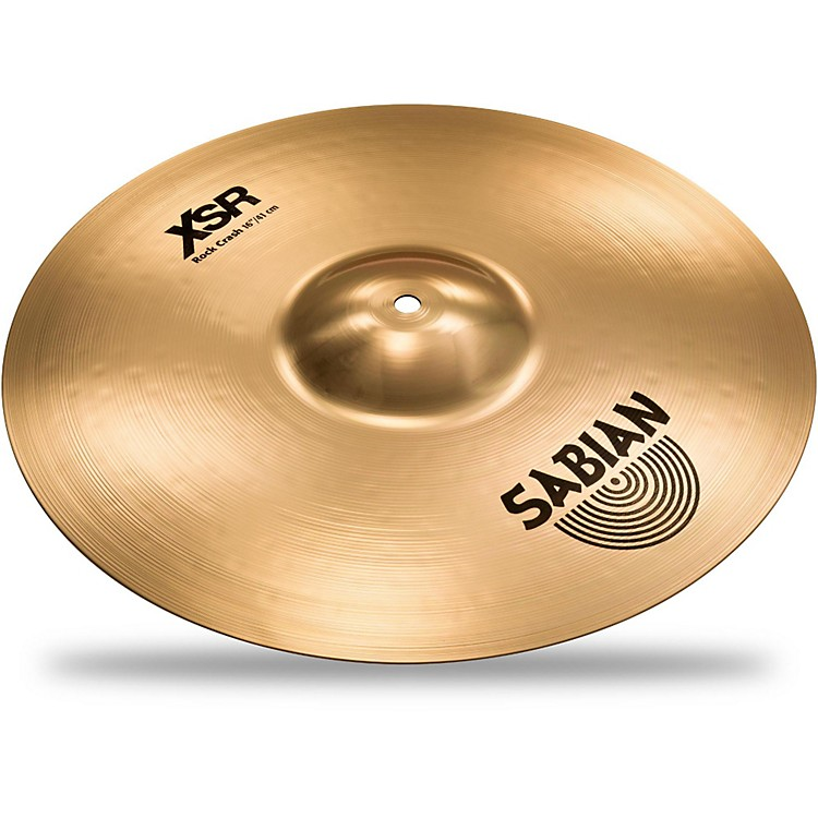 Sabian XSR Series Rock Crash Cymbal 16 in.