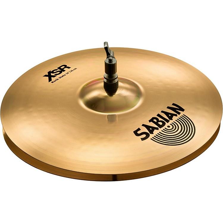 SabianXSR Series Rock Hi-Hat Cymbal Pair14 in.