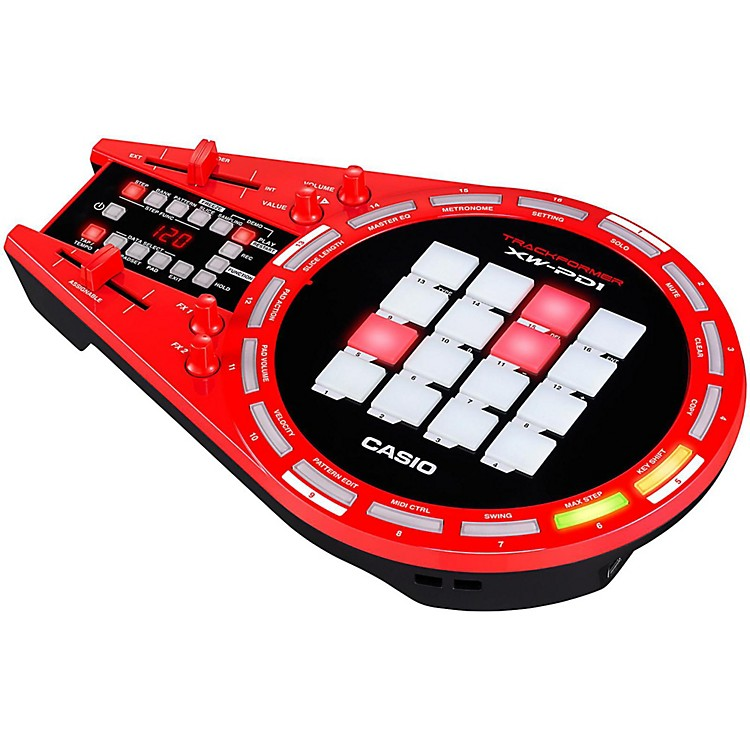 Casio XW-PD1 Trackformer Groove Center  888365739557