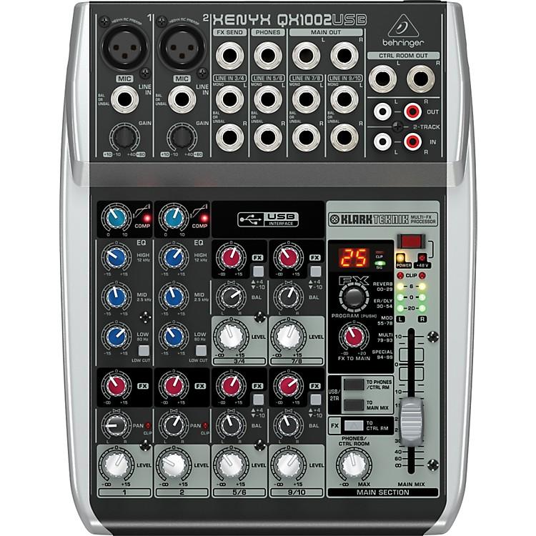 BehringerXenyx QX1002USB Mixer