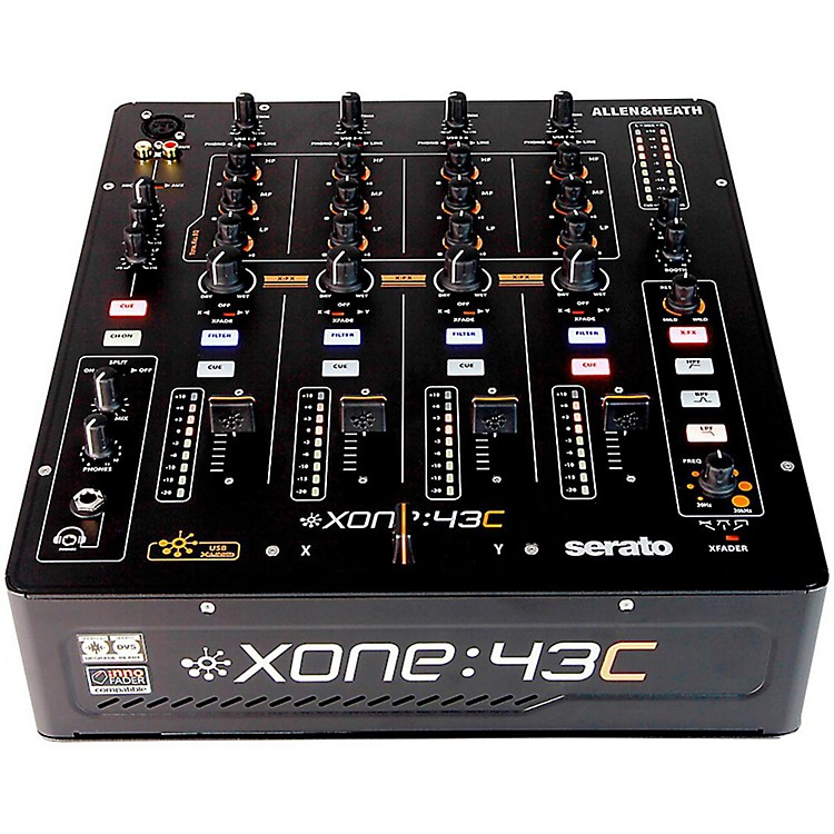 Allen & HeathXone:43C DJ Mixer with Soundcard