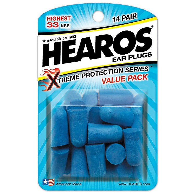 Hearos Xtreme Protection Series Ear Plugs (14 Pair)