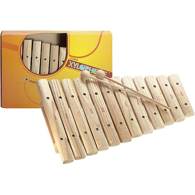 StaggXylophone, 12 Keys, A-E
