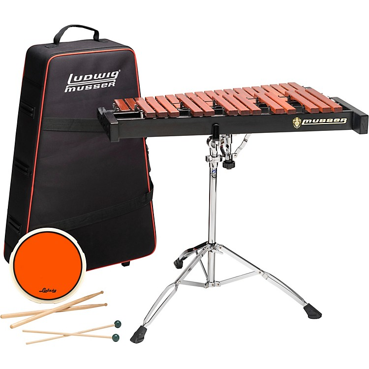 MusserXylophone Kit 2.5 Octave With Pad, Stand, Bag