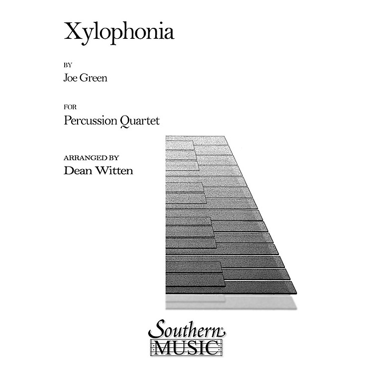 Hal LeonardXylophonia (Percussion Music/Mallet/marimba/vibra) Southern Music Series Arranged by Dean Witten